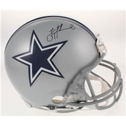 Troy Aikman Signed Dallas Cowboys Full-Size Authentic On-Field Helmet (Aikman Hologram)