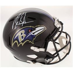 Mark Ingram Signed Baltimore Ravens Full-Size Speed Helmet (Radtke COA)