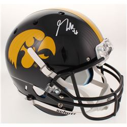 George Kittle Signed Iowa Hawkeyes Full-Size Helmet (Radtke COA)