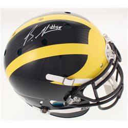 Brandon Graham Signed Michigan Wolverines Full-Size Authentic On-Field Helmet (Radtke COA)