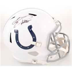 Eric Ebron Signed Indianapolis Colts Full-Size Speed Helmet (Radtke COA)