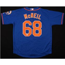 Jeff McNeil Signed New York Mets Jersey (JSA COA)