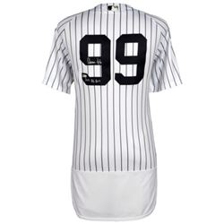 "Aaron Judge Signed New York Yankees Jersey Inscribed ""2017 AL ROY"" (Fanatics Hologram)"