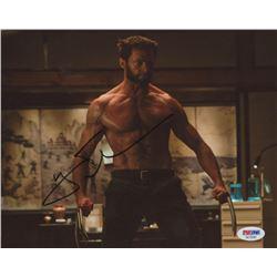 "Hugh Jackman Signed ""Wolverine"" 8x10 Photo (PSA COA)"