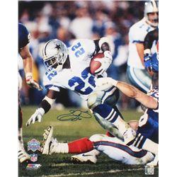 Emmitt Smith Signed Dallas Cowboys 16x20 Photo (UDA COA)
