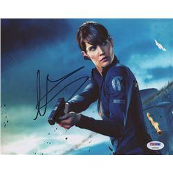 "Cobie Smulders Signed ""The Avengers"" 8x10 Photo (PSA COA)"