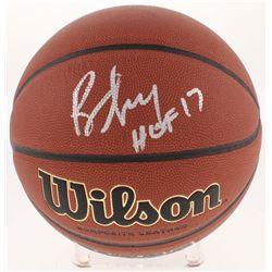"Bill Self Signed NCAA Game Ball Series Basketball Inscribed ""HOF 17"" (Beckett Hologram)"