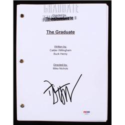"Dustin Hoffman Signed ""The Graduate"" Full Movie Script (PSA COA)"
