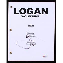 "Hugh Jackman Signed ""Logan"" Full Movie Script (PSA COA)"