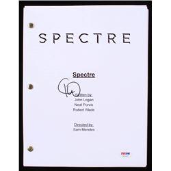 "Christoph Waltz Signed ""Spectre"" Full Movie Script (PSA COA)"