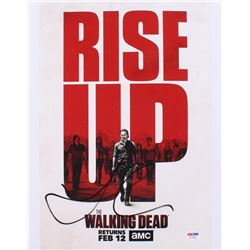 "Norman Reedus Signed ""The Walking Dead"" 11x14 Photo (PSA COA)"