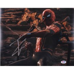 "Tom Holland Signed ""Spider-Man: Homecoming"" 11x14 Photo (PSA COA)"