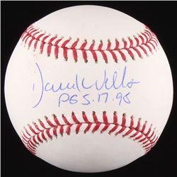 "David Wells Signed OML Baseball Inscribed ""PG 5-17-98"" (MAB Hologram)"