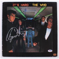 "Pete Townshend  Roger Daltrey Signed The Who ""It's Hard"" Vinyl Record Album (PSA Hologram)"
