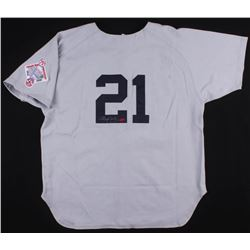 Roger Clemens  Brian McNamee Signed Boston Red Sox Jersey (PSA LOA  Your Sports Memorabilia Store CO