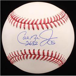 """Cal Ripken Jr. Signed OML Baseball Inscribed """"2632"""" (Radtke COA)"""