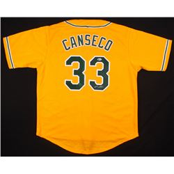 Jose Canseco Signed Oakland Athletics Jersey (Beckett COA)