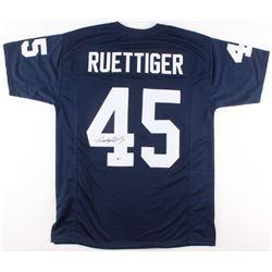 Rudy Ruettiger Signed Notre Dame Fighting Irish Jersey (Beckett COA)