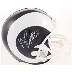 Marcus Peters Signed Los Angeles Rams Full-Size Speed Helmet (Radtke COA)