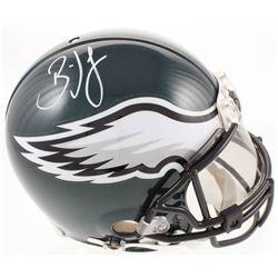 Brian Dawkins Signed Philadelphia Eagles Full-Size Authentic On-Field Helmet With Visor (JSA COA)