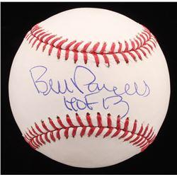 """Bill Parcells Signed OML Baseball Inscribed """"HOF 13"""" (JSA COA)"""