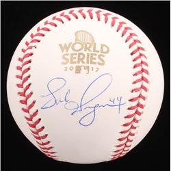 Luke Gregerson Signed 2017 World Series Baseball (JSA COA)