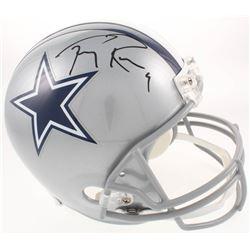 Tony Romo Signed Dallas Cowboys Full-Size Helmet (JSA COA)