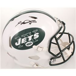 Sam Darnold Signed New York Jets Full-Size Authentic On-Field Speed Helmet (Radtke COA)