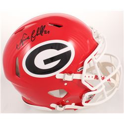 Nick Chubb Signed Georgia Bulldogs Full-Size Authentic On-field Speed Helmet (Radtke COA)