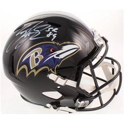 Steve Smith Sr. Signed Baltimore Ravens Full-Size Helmet (Smith Hologram)