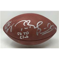 """Tom Brady, Peyton Manning  Patrick Mahomes Signed """"The Duke"""" Official NFL Limited Edition Game Ball"""