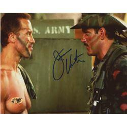 "Jesse Ventura Signed ""Predator"" 8x10 Photo (MAB Hologram)"