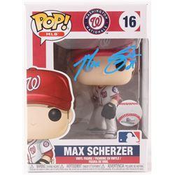 Max Scherzer Signed Washington Nationals #16 MLB Funko Pop! Vinyl Figure (JSA COA)