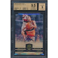 2009-10 Court Kings #129 Stephen Curry Autograph RC (BGS 9.5)