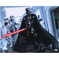 "David Prowse Signed ""Star Wars"" 16x20 Photo Inscribed ""Is Darth Vader"" (Beckett COA)"