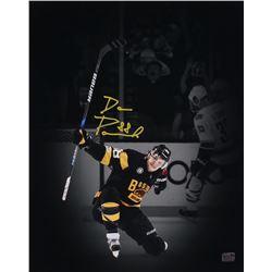 David Pastrnak Signed Boston Bruins 16x20 Photo (Pastrnak COA)