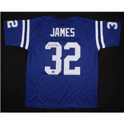 Edgerrin James Signed Indianapolis Colts Jersey (Radtke COA)