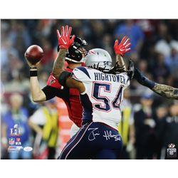 Dont'a Hightower Signed New England Patriots 16x20 Photo ( JSA COA  Sure Shot Hologram)