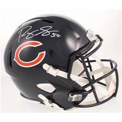 Roquan Smith Signed Chicago Bears Full-Size Speed Helmet (Radtke COA)