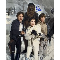 """Peter Mayhew Signed """"Star Wars: The Empire Strikes Back"""" 16x20 Photo Inscribed """"Chewbacca"""" (Steiner"""