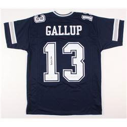 Michael Gallup Signed Dallas Cowboys Jersey (JSA COA)