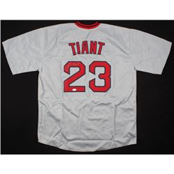 Luis Tiant Signed Boston Red Sox Jersey (JSA COA)