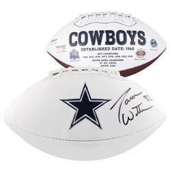 Jason Witten Signed Dallas Cowboys Logo NFL Football (Fanatics Hologram)