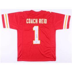 Andy Reid Signed Kansas City Chiefs Jersey (Beckett COA)