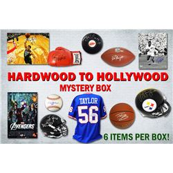 Hardwood to Hollywood EXTREME Autograph Mystery Box – Series 3 (6 Signed Collectibles Per Box) (Li