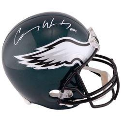 "Carson Wentz Signed Philadelphia Eagles Full-Size Helmet Inscribed ""A01"" (Fanatics Hologram)"