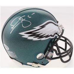 Donovan McNabb Signed Philadelphia Eagles Mini-Helmet (Beckett COA)