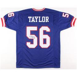 Lawrence Taylor Signed New York Giants Jersey (JSA COA)