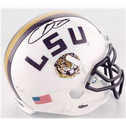 Odell Beckham Signed LSU Tigers Mini Helmet (JSA COA)