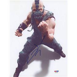"""Tom Hardy Signed """"The Dark Knight Rises"""" 8.5x11 Photo (PSA COA)"""